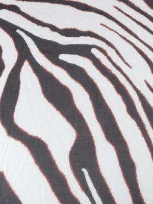 ROBERTO CAVALLI: sciarpe e foulard online - Foulard in modal zebrato