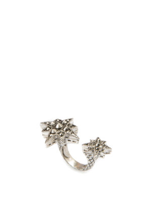 Roberto Cavalli: Rings - Double star ring