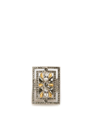 Roberto Cavalli: Rings - Ethnic Deco ring
