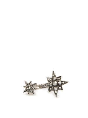 Roberto Cavalli: Rings online - Double star ring
