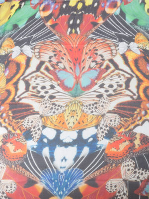 Roberto Cavalli: scarves online - Butterfly silk scarf