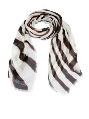 ROBERTO CAVALLI: sciarpe e foulard - Foulard in modal zebrato