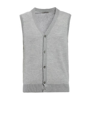 Roda: vests - Cotton jacquard vest