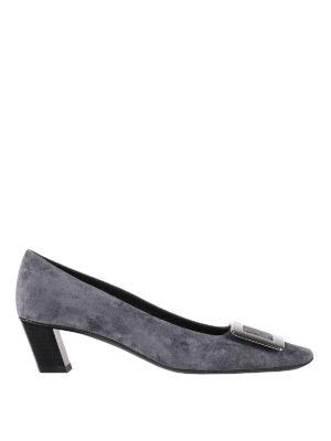 Roger Vivier: court shoes - Belle Vivier suede pumps