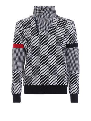 ROSSIGNOL: maglia a collo alto e polo - Maglione Borrome di lana a scacchi