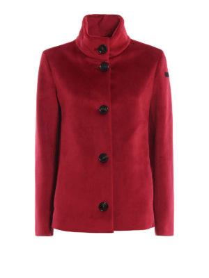 RRD: giacche casual - Giacca Neo Velvet K Lady rosso vivo