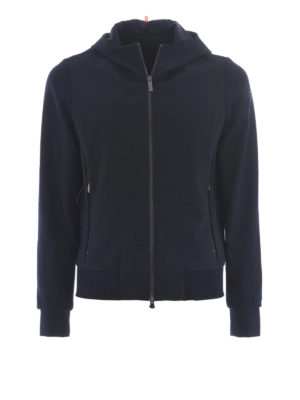 RRD: giacche casual - Giacca Poliknit Hood blu notte