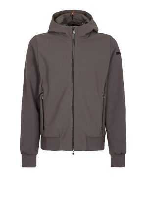 RRD: giacche casual - Giacca Poliknit Hood tortora