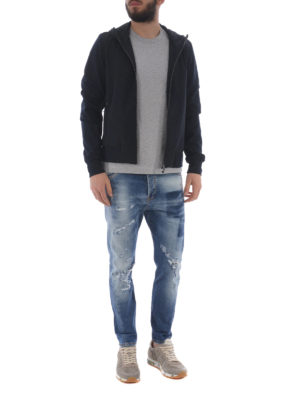RRD: giacche casual online - Giacca Poliknit Hood blu notte