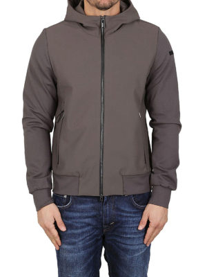 RRD: giacche casual online - Giacca Poliknit Hood tortora