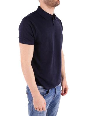 RRD: polo online - Polo in jersey di cotone blu