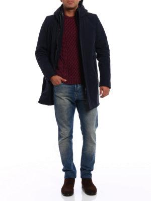 RRD: padded coats online - Raincoat with detachable interior