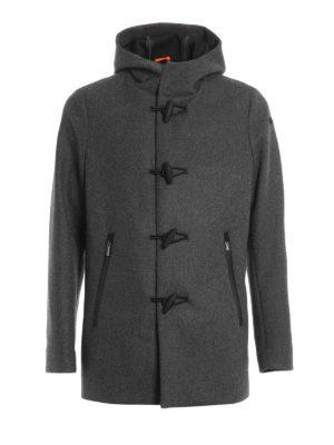 RRD: parkas - Wool Montgomery hooded parka
