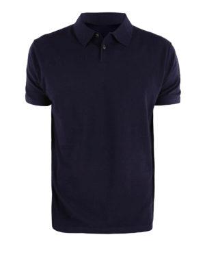 RRD: polo - Polo in jersey di cotone blu