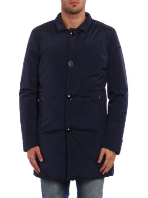 RRD: short coats online - Flat stretch opaque nylon coat
