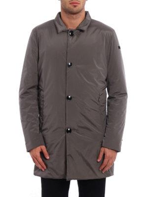 RRD: short coats online - Flat stretch opaque nylon coat