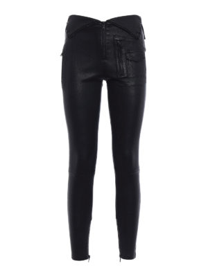 Rta: leather trousers - Diavolina stretch leather trousers
