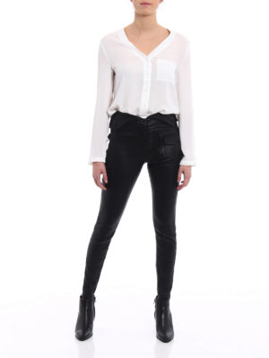 Rta: leather trousers online - Diavolina stretch leather trousers