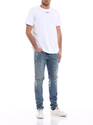 Rta: skinny jeans online - Palm Springs distressed jeans