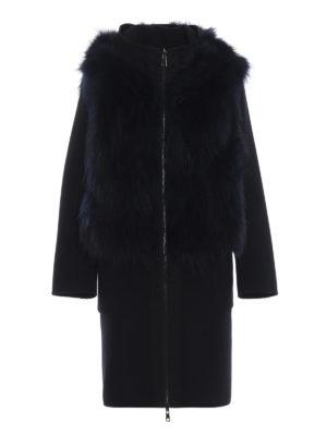 S.W.O.R.D 6.6.44 LONDON: Pellicce e montoni - Cappotto in panno con gilet di pelliccia