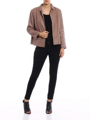 S.W.O.R.D 6.6.44 London: leather jacket online - Vintage leather flared jacket