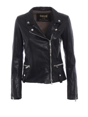 S.W.O.R.D 6.6.44 London: leather jacket - Soft leather fitted jacket