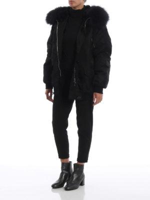 S.W.O.R.D 6.6.44 LONDON: giacche casual online - Giacca in nylon con cappuccio e pelliccia