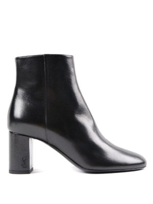 Saint Laurent: ankle boots - Loulou booties with pointed toe
