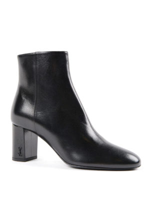 Saint Laurent: ankle boots online - Loulou booties with pointed toe