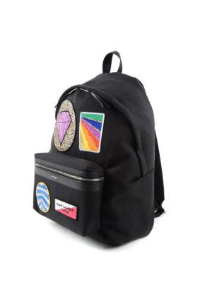 Saint Laurent: backpacks online - City multi-patch backpack