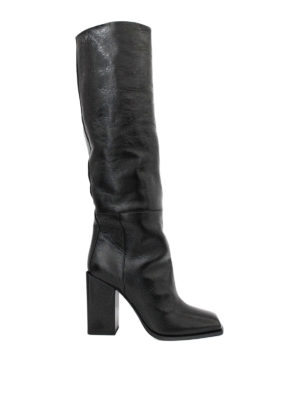 Saint Laurent: boots - Jodie knee length leather boots