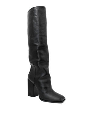 Saint Laurent: boots online - Jodie knee length leather boots