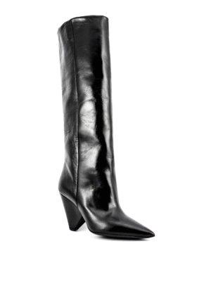 Saint Laurent: boots online - Leather Niki boots