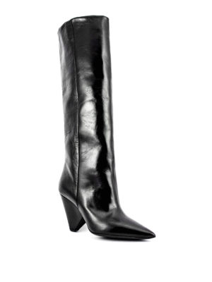 Saint Laurent: boots online - Leather Niki boots