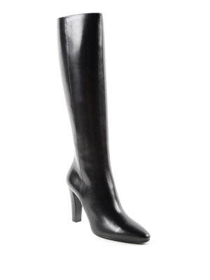 Saint Laurent: boots online - Lily leather boots