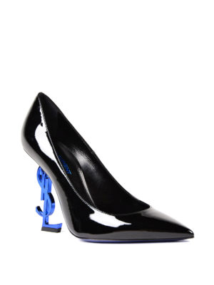 Saint Laurent: court shoes online - Opyum 110 ysl heeled patent pumps