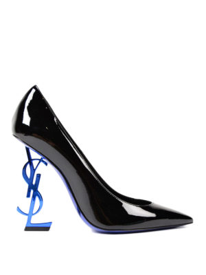 Saint Laurent: court shoes - Opyum 110 ysl heeled patent pumps