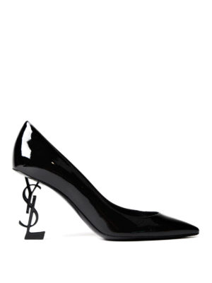 Saint Laurent: court shoes - Opyum YSL heeled patent pumps