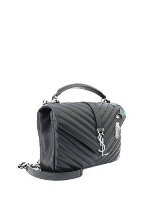 Saint Laurent: cross body bags online - Collège Pin napa leather medium bag