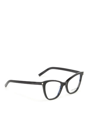 Saint Laurent: glasses - Black cat eye optical glasses