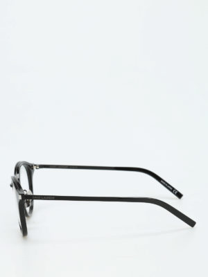 Saint Laurent: glasses online - Black frame round glasses