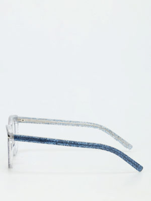 Saint Laurent: glasses online - Glossy glitter optical glasses