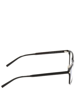 Saint Laurent: glasses online - Slim acetate square glasses