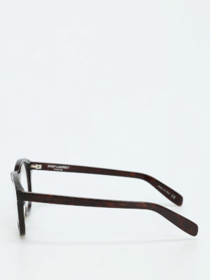 Saint Laurent: glasses online - Thick frame round glasses