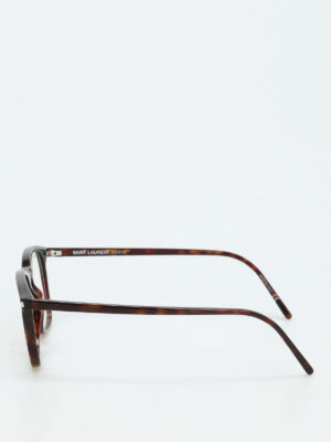 Saint Laurent: glasses online - Thick frame squared glasses