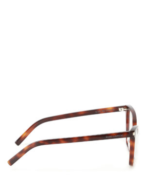Saint Laurent: glasses online - Tortoise cat eye optical glasses