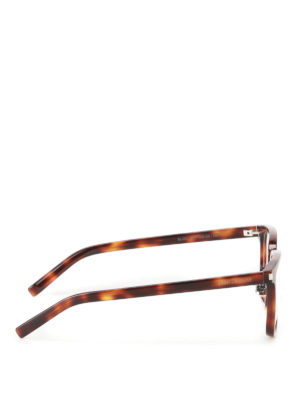Saint Laurent: glasses online - Tortoise square optical glasses