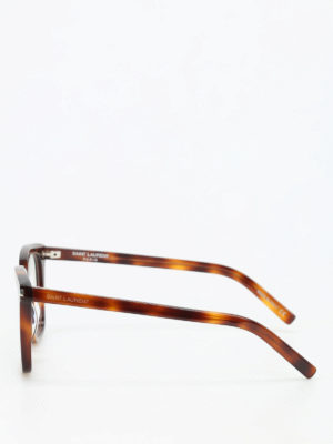 Saint Laurent: glasses online - Tortoiseshell optical glasses