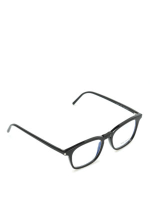 Saint Laurent: glasses - Thick frame square glasses