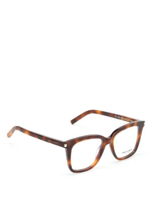 Saint Laurent: glasses - Tortoiseshell optical glasses